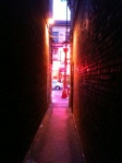 Alley View in China Town