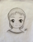 Manga girl by Deven Kamra Lyons (CC)